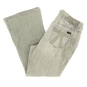 Seven7 Jeans LUXE Sexy Flare Rhinestones 16 34X29